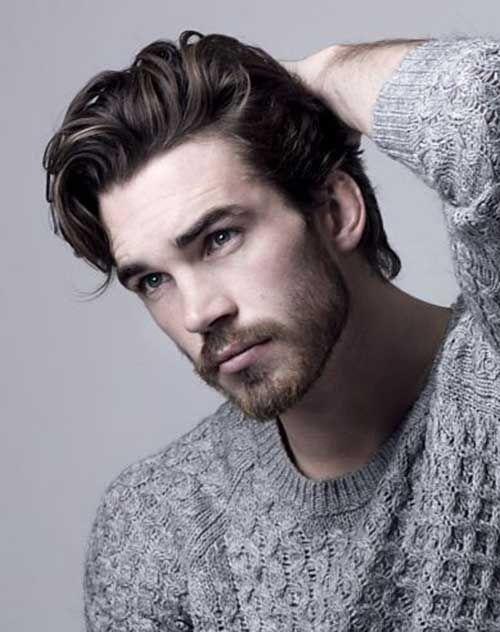 118 99 Usd Men S Toupee Human Hair Straight Monofilament Net Base Thin Skin Around With Mens Hairstyles Thick Hair Long Hair Styles Men Mens Hairstyles Medium