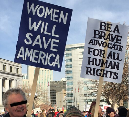 The Never Ending Protest Posters From The Women S March On Washington The People Against Trump Womens March Posters Womens March Protest Posters