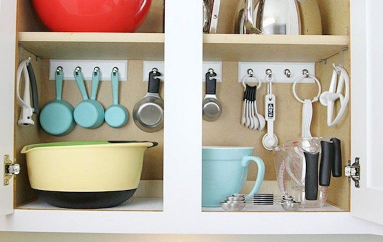 47 creative ways to organize your rvs kitchen space ideas on clever ideas for diy kitchen cabinet organization tips for organizers id=90343