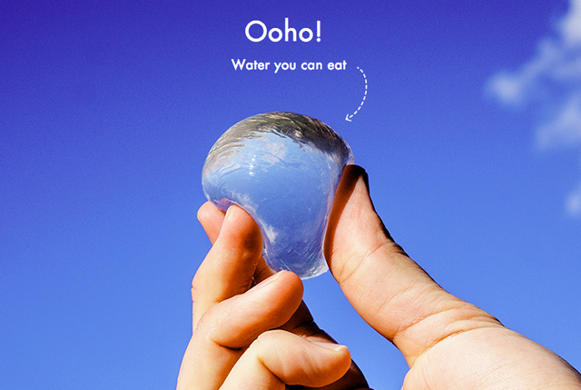 Blob mobili ~ This edible water blob could change hydration forever water