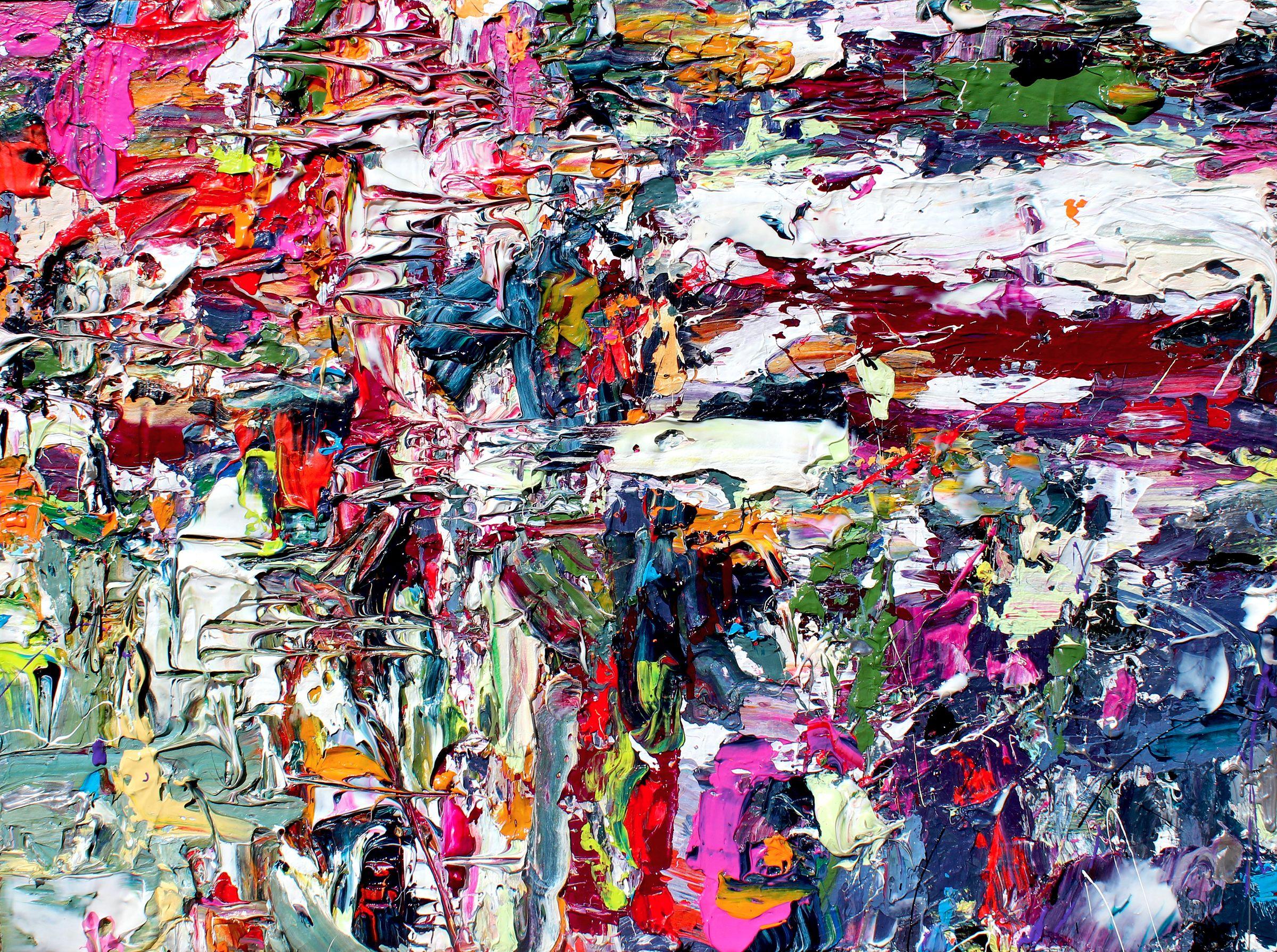 Adam Cohen Abstract painting adamcohenstudio.com