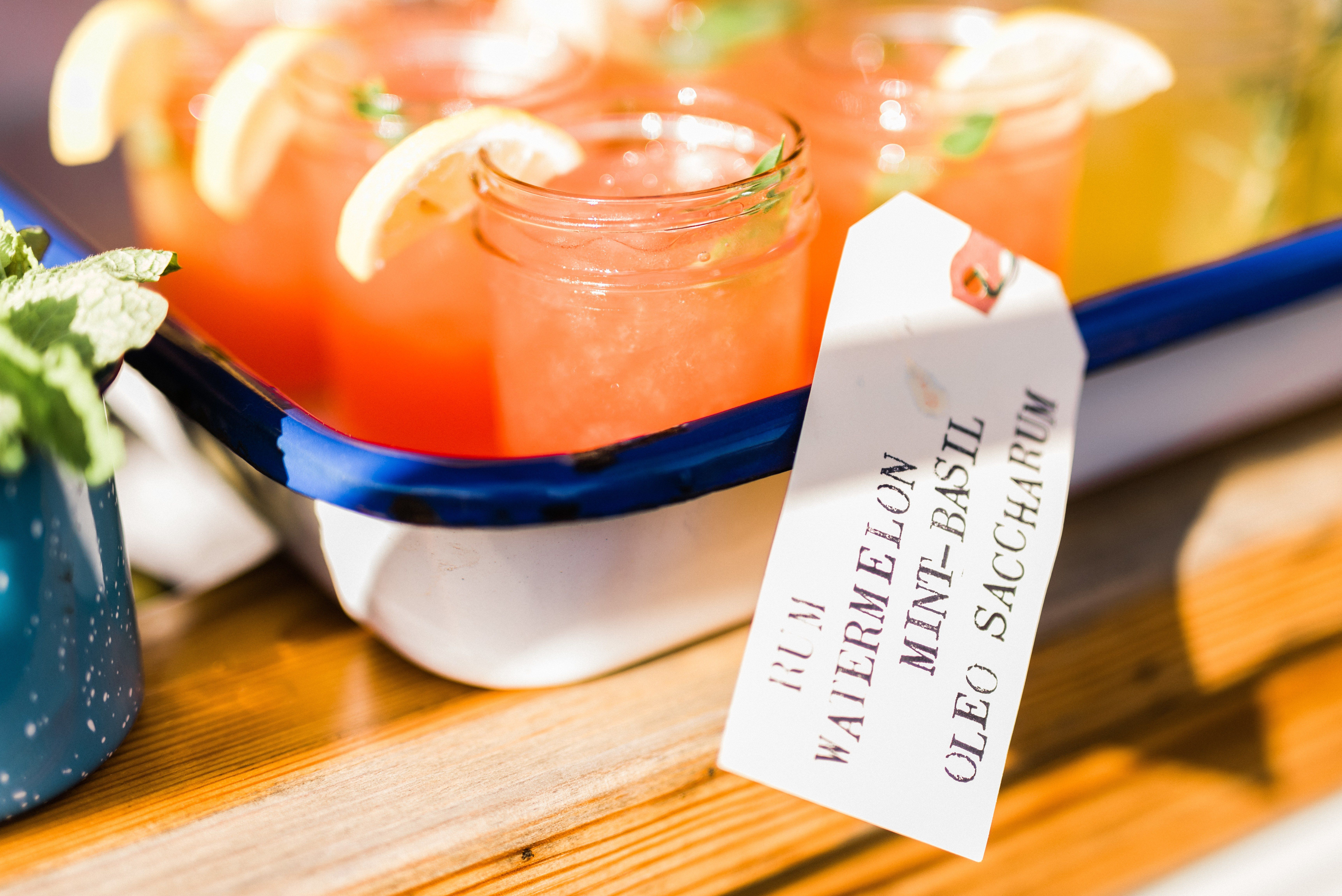 How to Come Up With Signature Wedding Cocktail Names