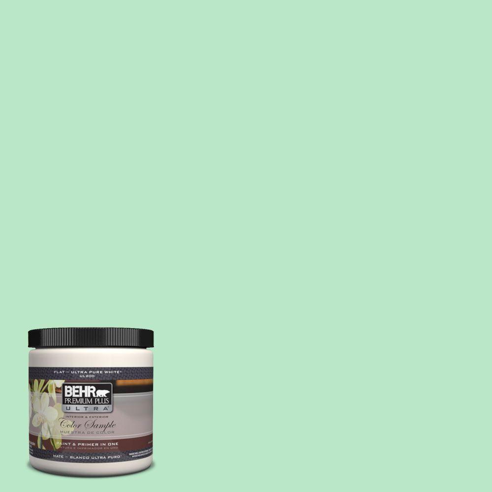 Behr Premium Plus Ultra 8 Oz 460a 3 Canton Jade Matte Interior Exterior Paint And Primer In One Sample Exterior Paint Behr Marquee Paint Behr Paint
