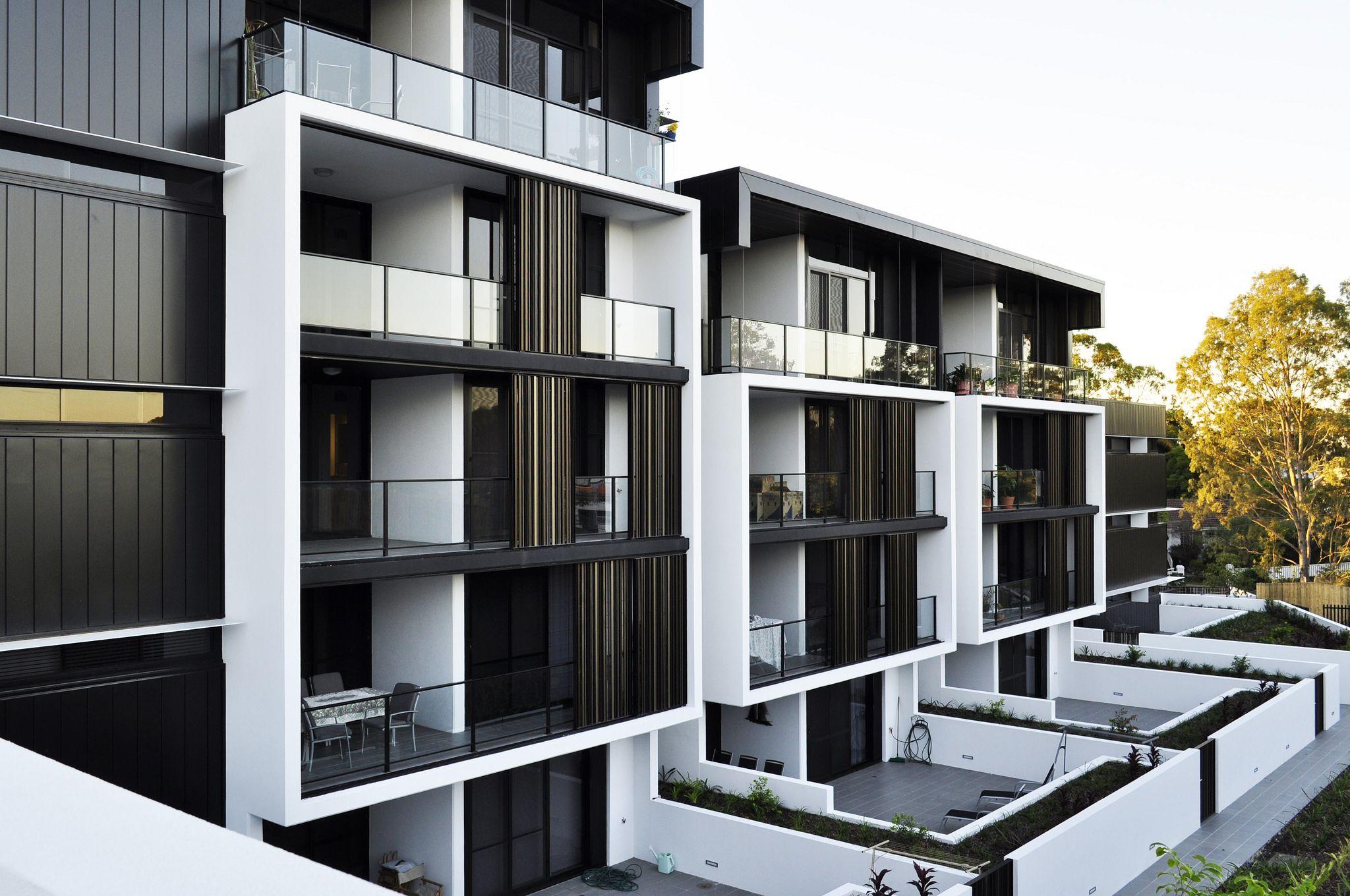 Rear Terraces 2 Architecture Pinterest Facades