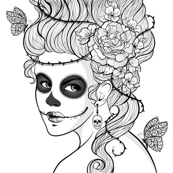 coloriage | dotd | Pinterest