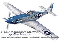 P51D Moonbeam Model Artwork