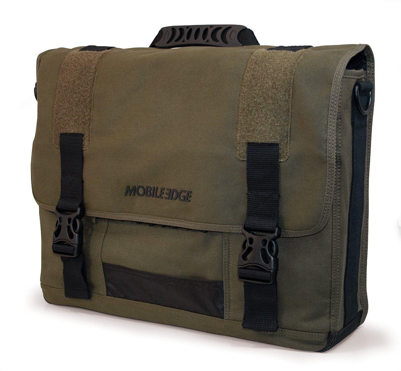 98acbb50b0e4 Mobile Edge 17.3-Inch Eco-Friendly Canvas Messenger Bag