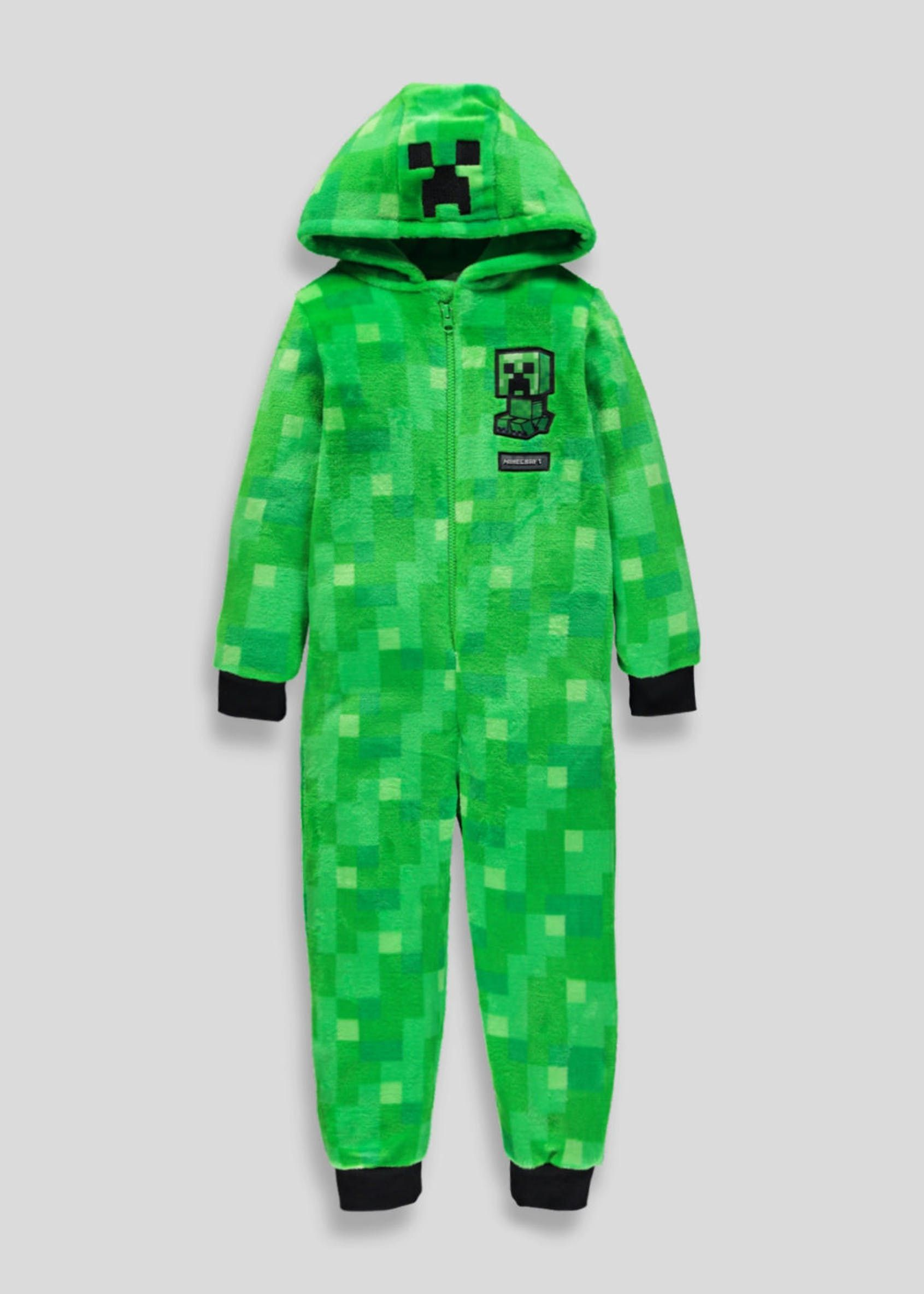 5799b3dc55b32 Kids Minecraft Novelty Onesie (6-12yrs) Girls Life, Minecraft, Windbreaker,