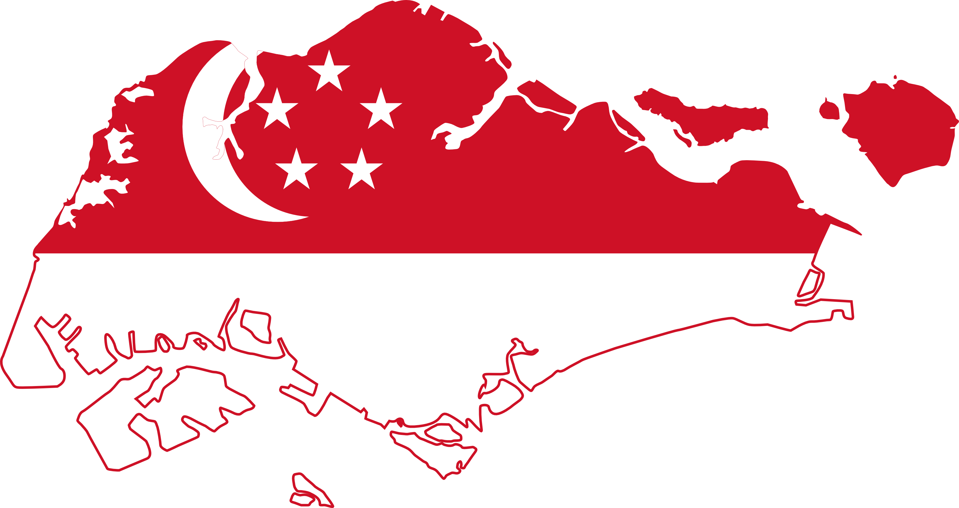 cool Singapore Map Flag Free Wallpapers Picture Anime