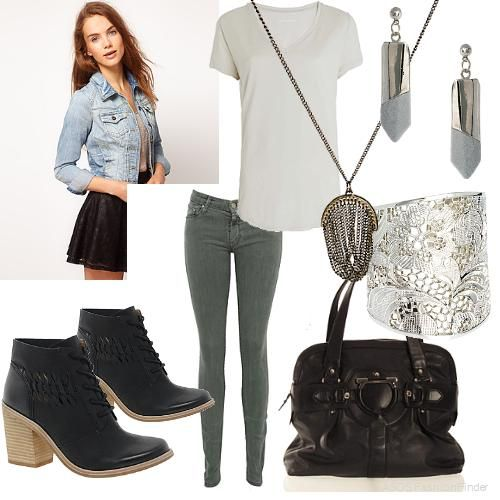 Casual Outfits for Women | create an outfit women s outfits casual edgy | glamour moment ...