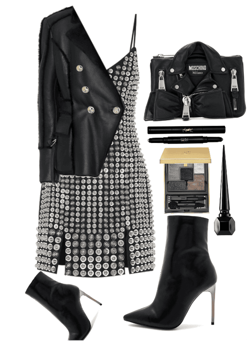 """""""Leather Jackets"""" by kotnourka liked on Polyvore featuring"""