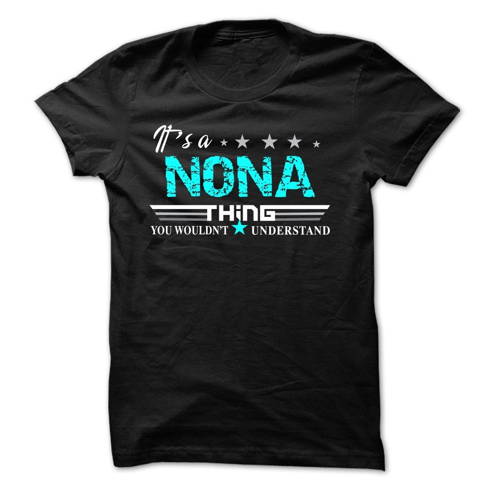 If your name is NONA then this is just for you