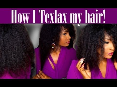 Texlaxing How I Texlax My Hair 4b And 4c Type