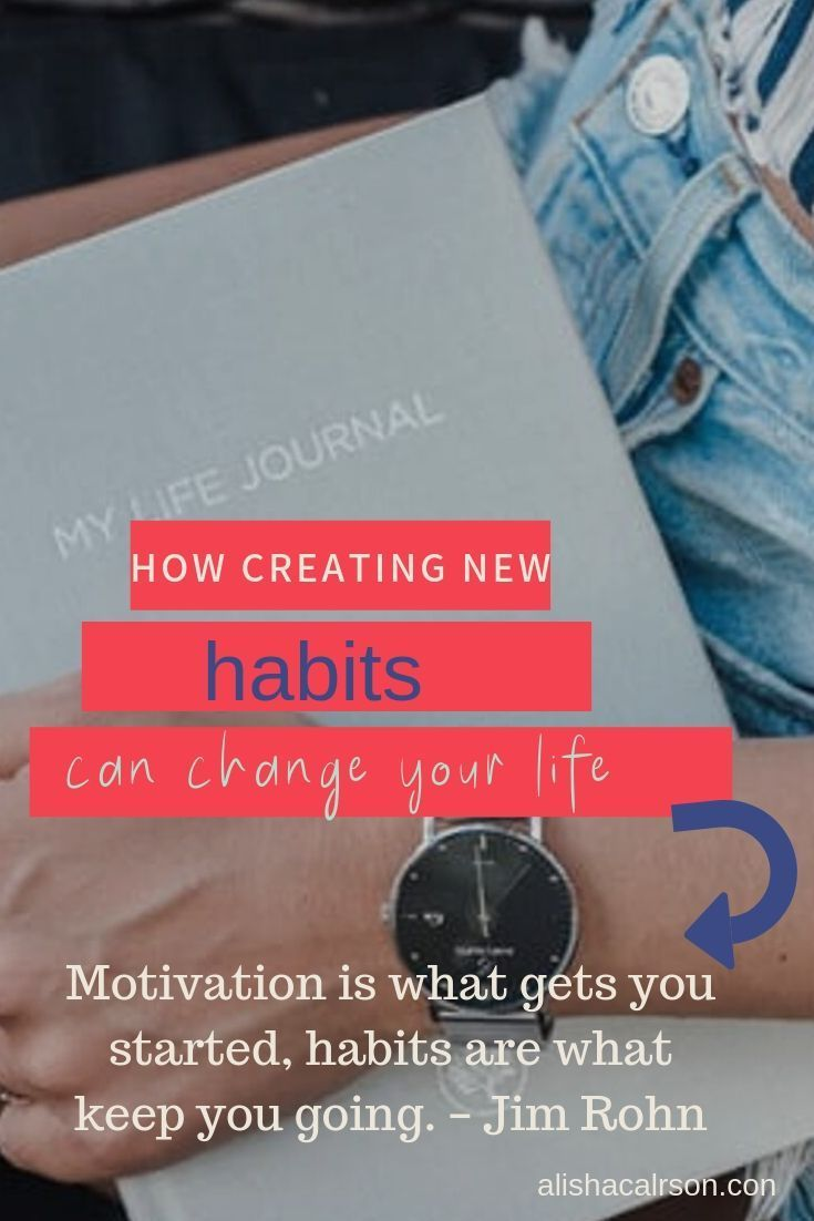 Creating new habits just might be key in your success. Daily positive habits can help every aspect o...