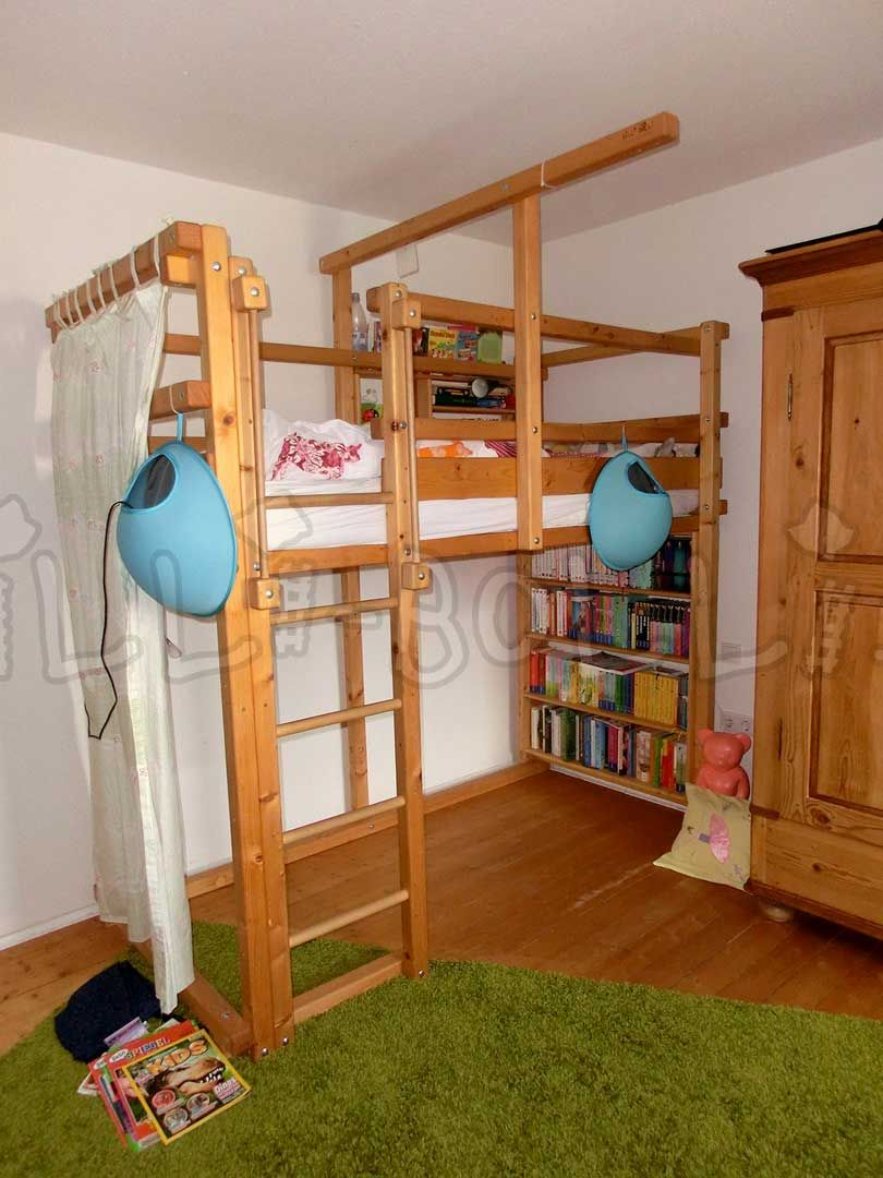 Hochbett Mitwachsend Billi Bolli Kindermobel Bed Home Decor