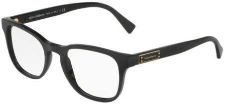 Dolce & Gabbana Eyeglasses 3260 501 BLACK