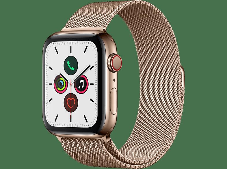 Mediamarkt Apple Apple Watch Series 5 Gps Cellular 44mm Smartwatch Edelstahl Edelstahl 140 Apfeluhr Apple Watch Kaufen Apple Watch Iphone