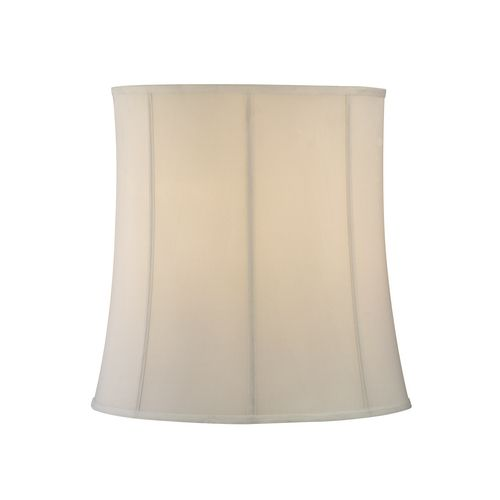 Eggshell drum lamp shade with deep spider assembly sh9571 destination lighting