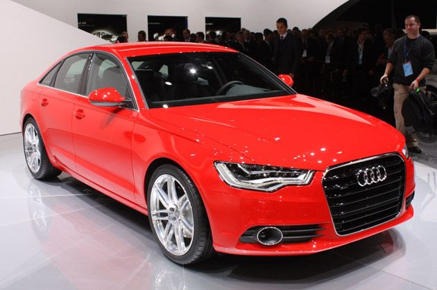 2012 Audi A6. Very Handsome, indeed.