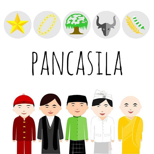Duduk Sama Rendah Berdiri Sama Tinggi Indonesia Kamu Iya Kamu Indonesia Kita Readart Vector Art Digitalart Fotografi Malam Agama Illustration