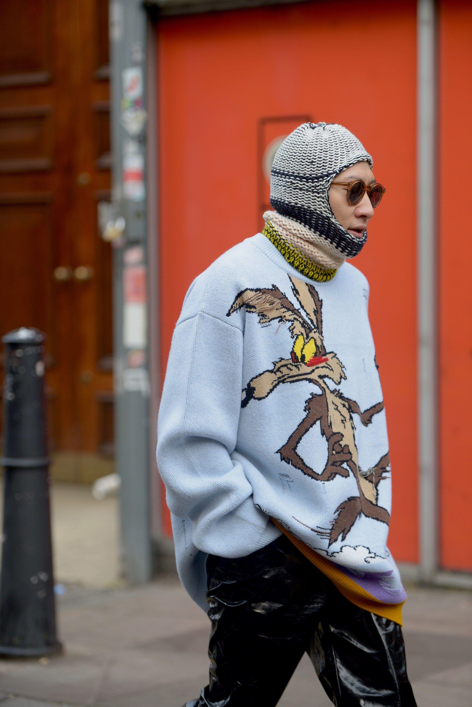 O street style da Semana de Moda Masculina de Londres - MODA SEM CENSURA    BLOG 1cbdf28217