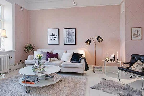 Wohnzimmer Altrosa ~ Rosa wohnzimmer in pastell nuancen sofa und tisch home