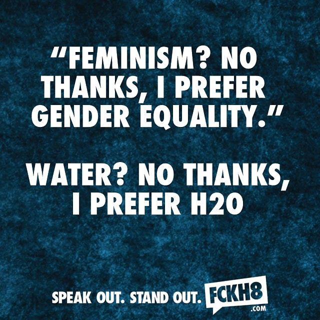 Gender Equality Quotes Fckh8 #feminist #feminism  Flower Power  Pinterest  Feminism