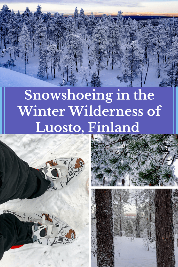 Snowshoeing In Luosto Finland And Its Wonderful Winter Wilderness Finland Travel Best Places To Travel Finland