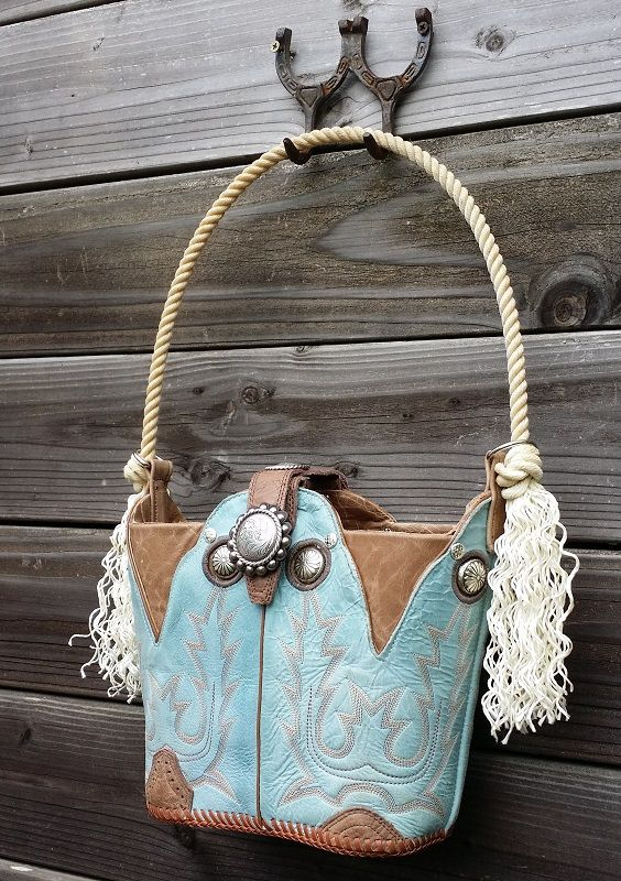 Cowboy Boot Purse Old Boots