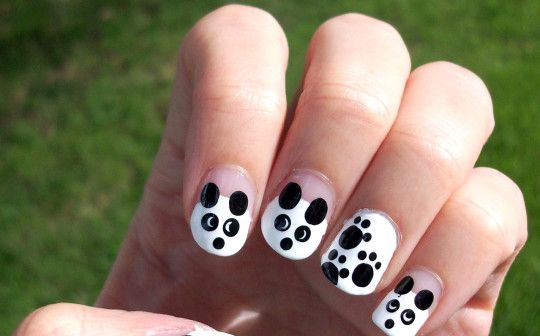 Black And White Nail Art Design - Black And White Nail Art Design Projects To Try Pinterest