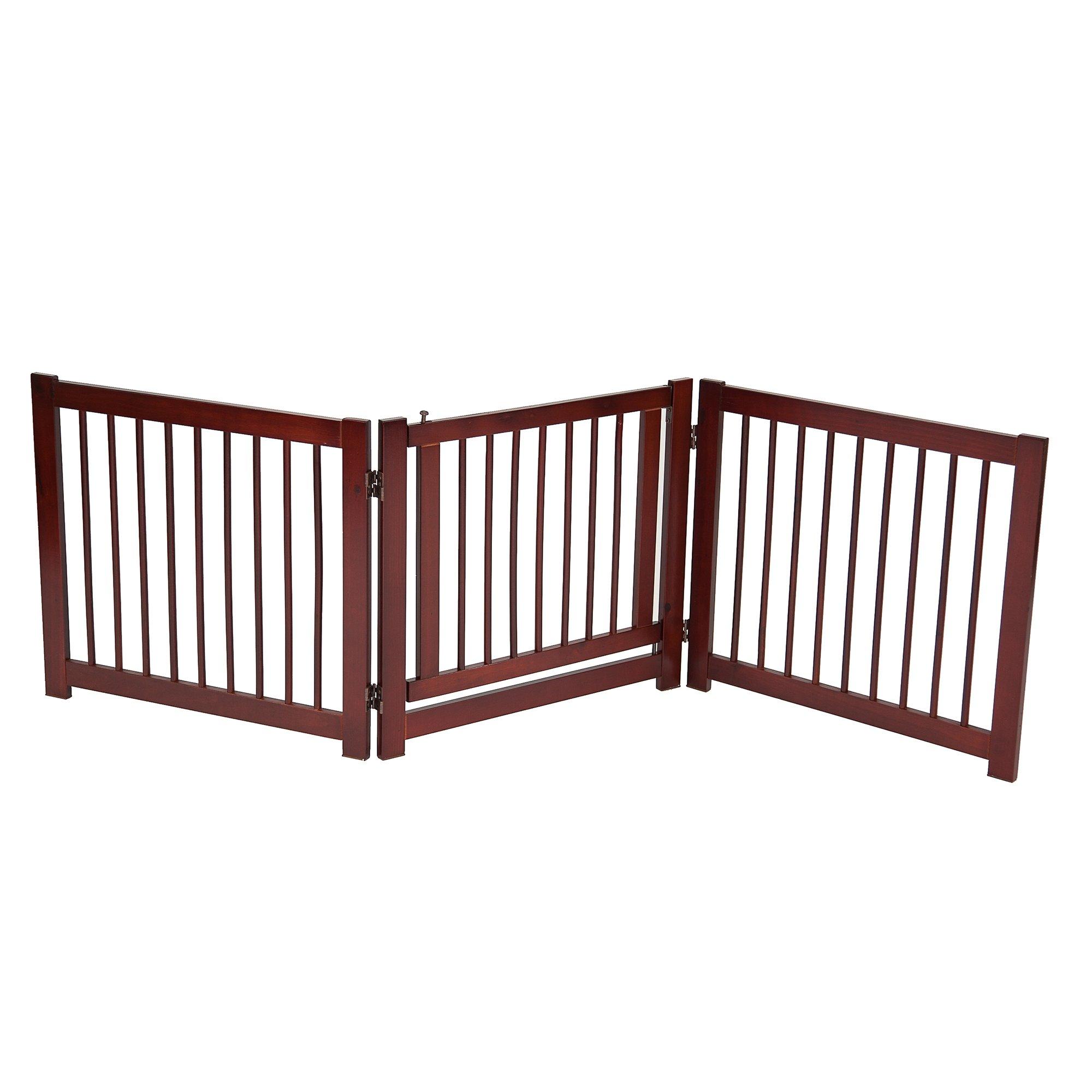 Primetime Petz 360 Configurable Pet Gate With Door 24 H Pet