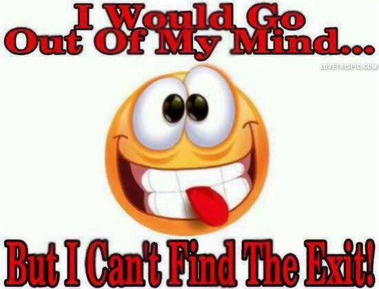 Out Of My Mind Funny Quotes Quote Crazy Lol Funny Quote Funny Quotes