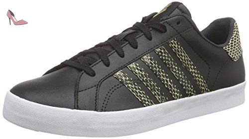Clean Court CMF, Sneakers Basses Homme, Noir(Black/White) - 42 EUK-Swiss