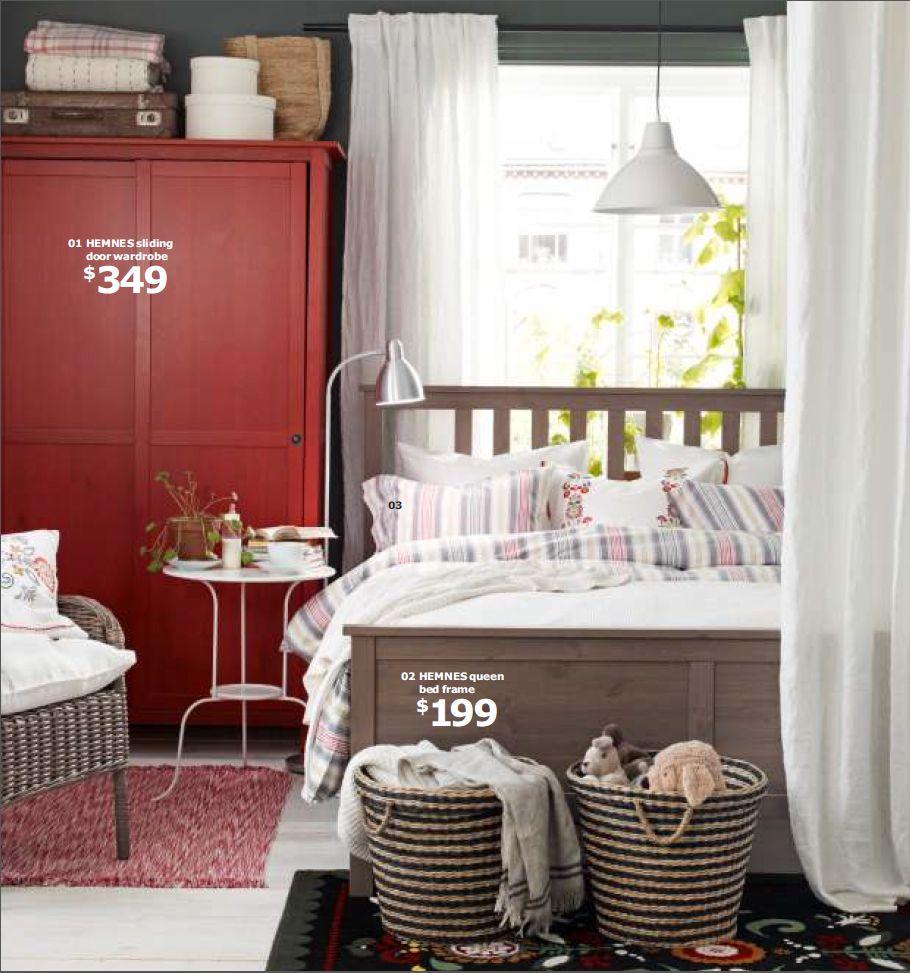 Schlafzimmer ikea hemnes  Ikea - Hemnes Bed & Wardrobe | Inspiration: Home | Pinterest ...