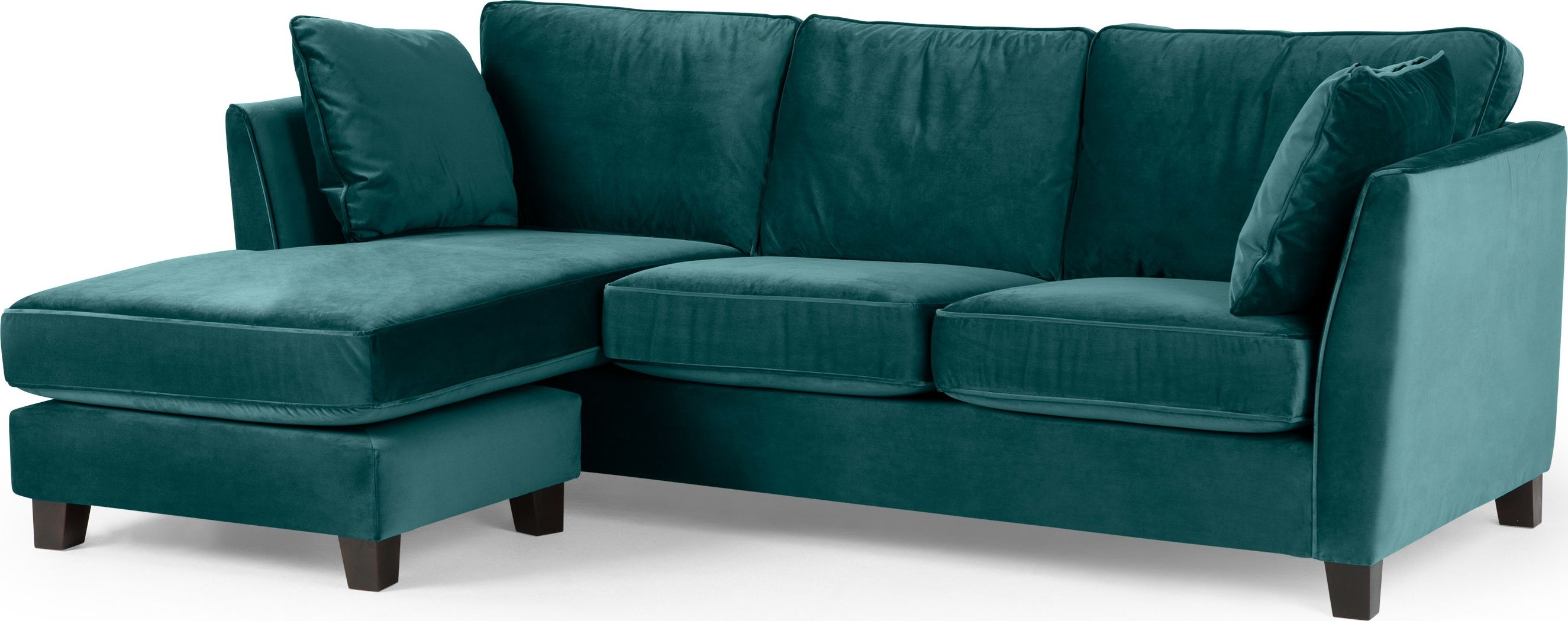 Wolseley Large Corner Sofa Pea Blue From Made Created In Collaboration With Home Expert And Presenter Alison Cork The Collectio
