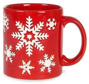 Amazon.com   Waechtersbach Christmas Tree Small Snowflakes Mug Red Coffee Cups \u0026  sc 1 st  Pinterest & Amazon.com   Waechtersbach Christmas Tree Small Snowflakes Mug Red ...