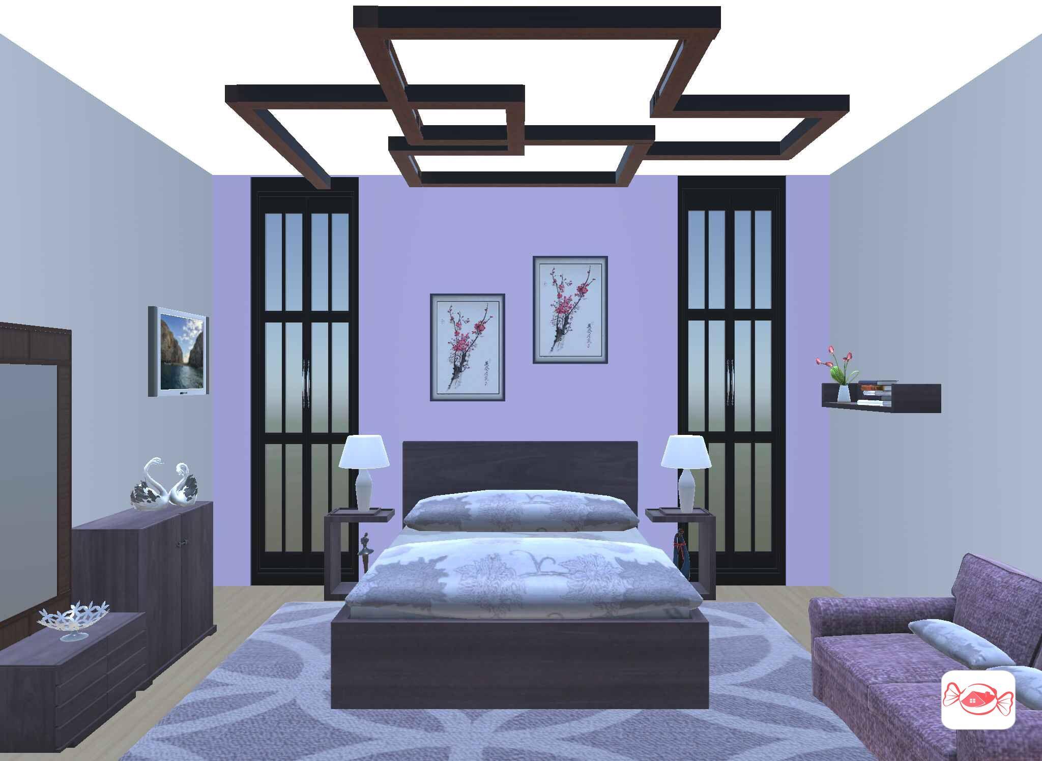 Bedroom Contemporary Bedroom Design Bedroom Design Purple Bedroom Design Bedroom design online 3d
