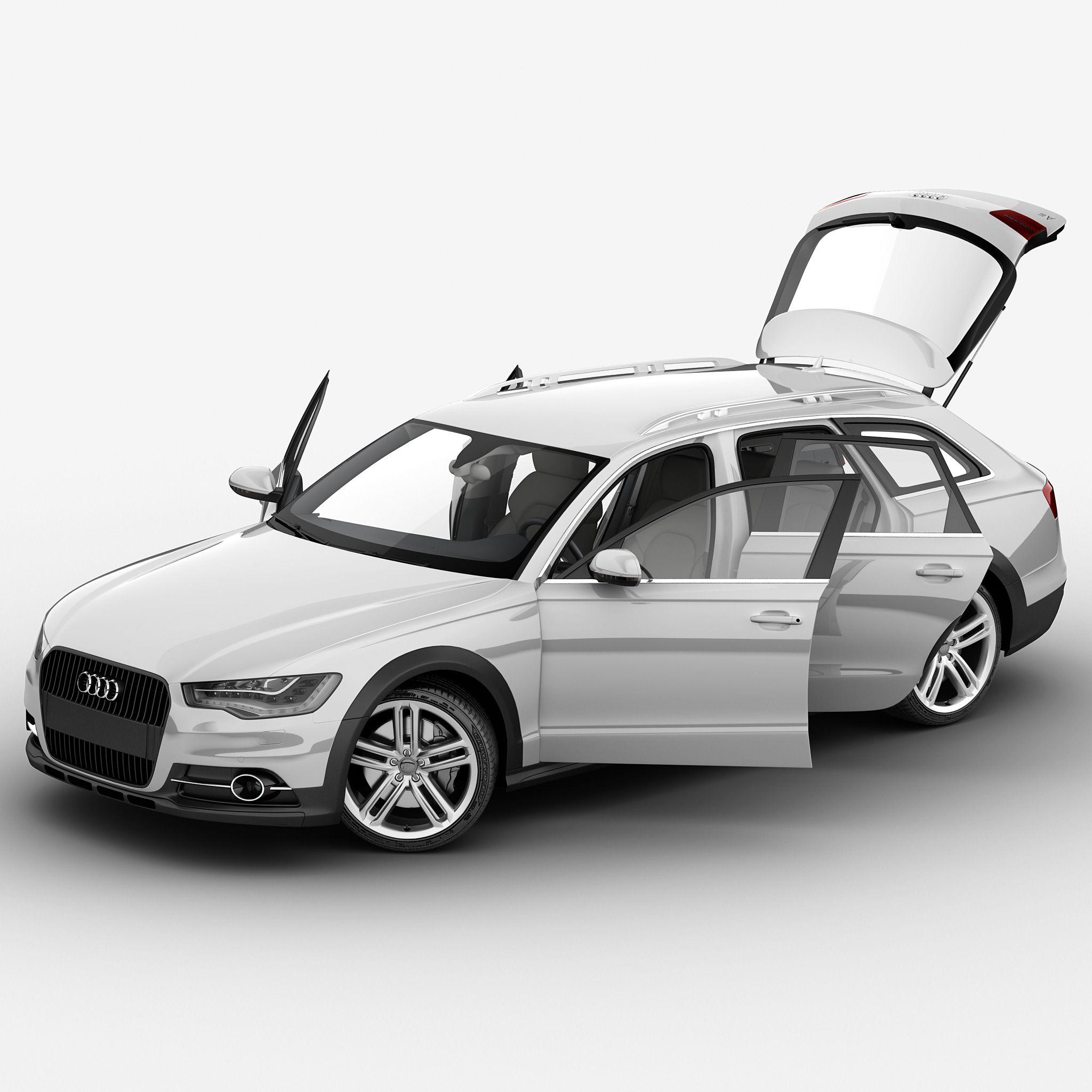 Audi A Rigged Car D Max Turbosquid Cars D Models - Audi car 3d games