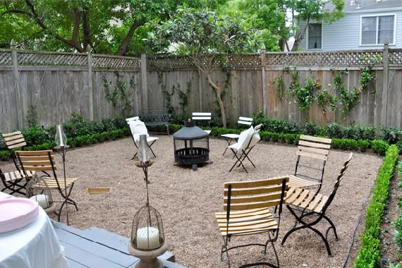 Lawn Replacements Kick Your Yard In The Grass No Grass Backyard Backyard Grass Alternative Pea Gravel Patio