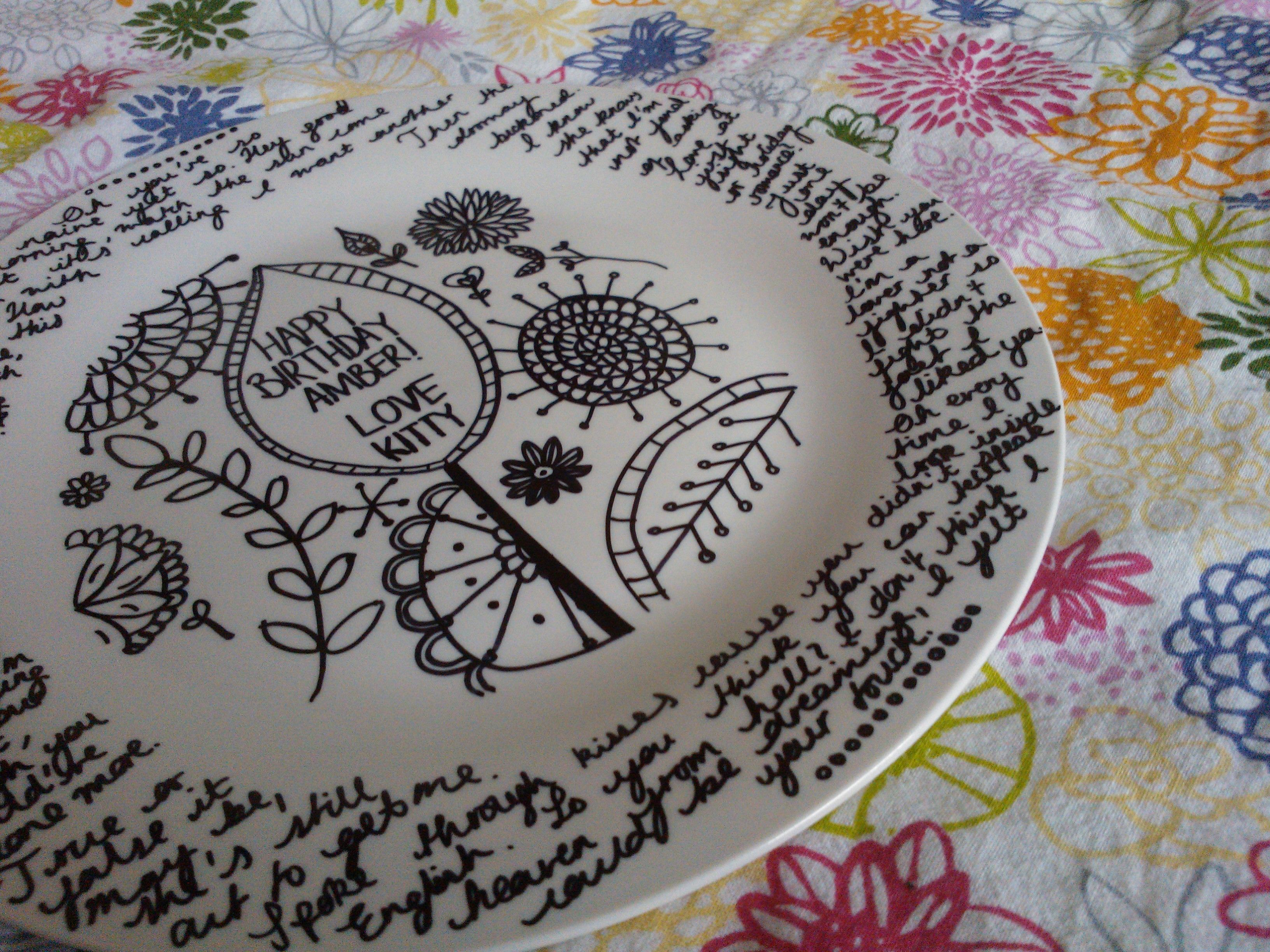 sharpie+plate+lyrics=thoughtful birthday present! #sharpieplates sharpie+plate+lyrics=thoughtful birthday present! #sharpieplates sharpie+plate+lyrics=thoughtful birthday present! #sharpieplates sharpie+plate+lyrics=thoughtful birthday present! #sharpieplates
