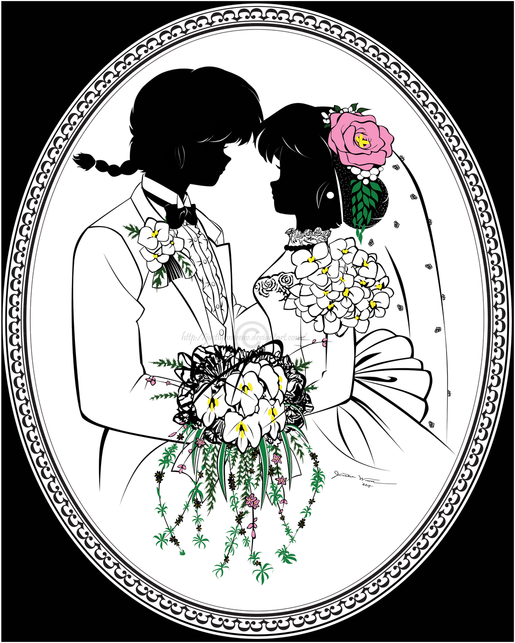 This Is One Of My Practices For Wedding Silhouette Portraits On Framing And Posing Positions Adobe Illustrator Photoshop