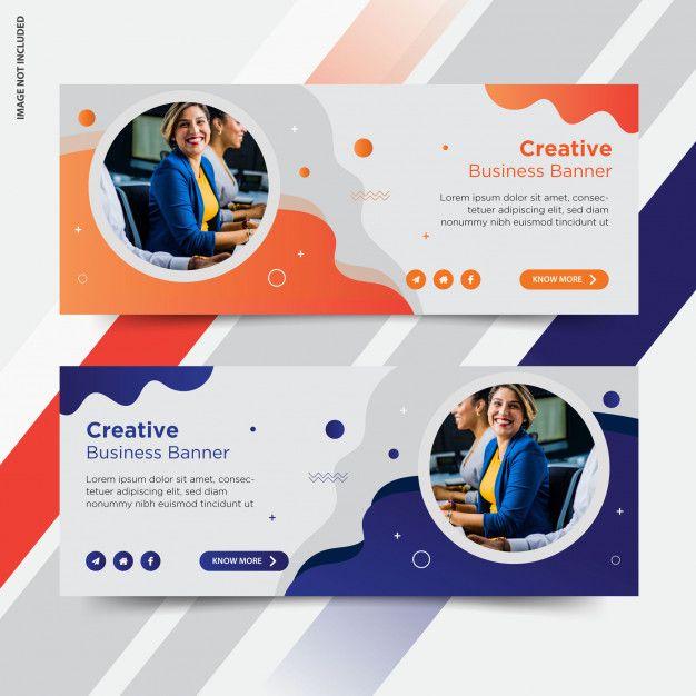 Business Facebook Cover Social Media Post Banner Facebook Cover Design Website Banner Design Banner Design Inspiration