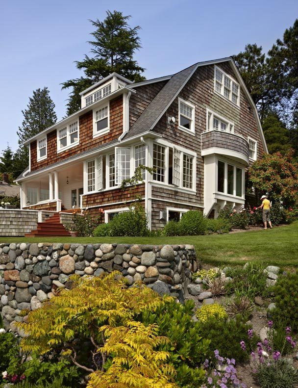 Early 1900 Home Design: Seattle Times Article About An Early 1900's Dutch Colonial