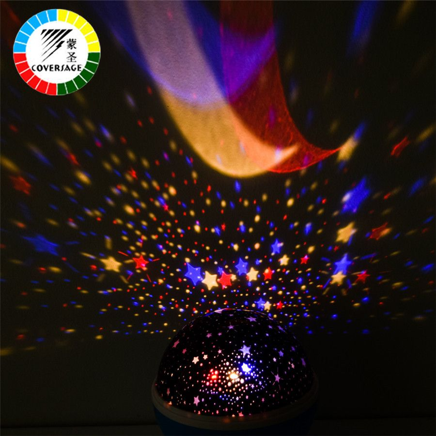 Coversage led rotating night light lamp 2pc starry star master moon coversage led rotating night light lamp 2pc starry star master moon sky night lighting projector kids aloadofball Choice Image