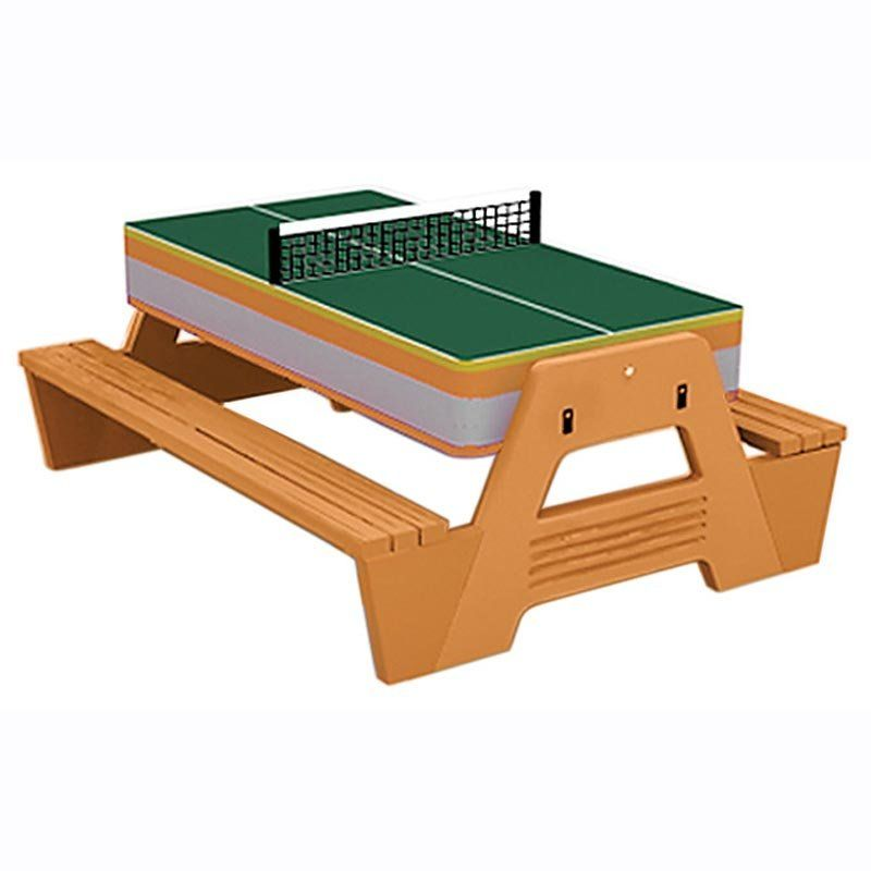 3 In 1 Picnic Game Table Just Got One Of These Portable Tennis Table Games Outdoor Table Tennis Table Picnic Games Picnic