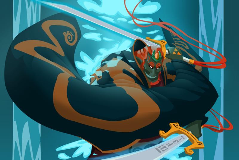 Fan Art Friday Wind Waker Ganondorf W Video By Drbjrart