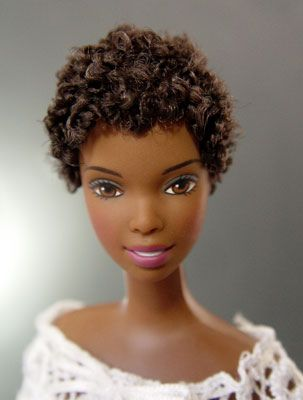 Pin By Keisha Royer On Say It Loud I M A Nerd And I M Proud Natural Hair Doll Natural Hair Styles Black Doll