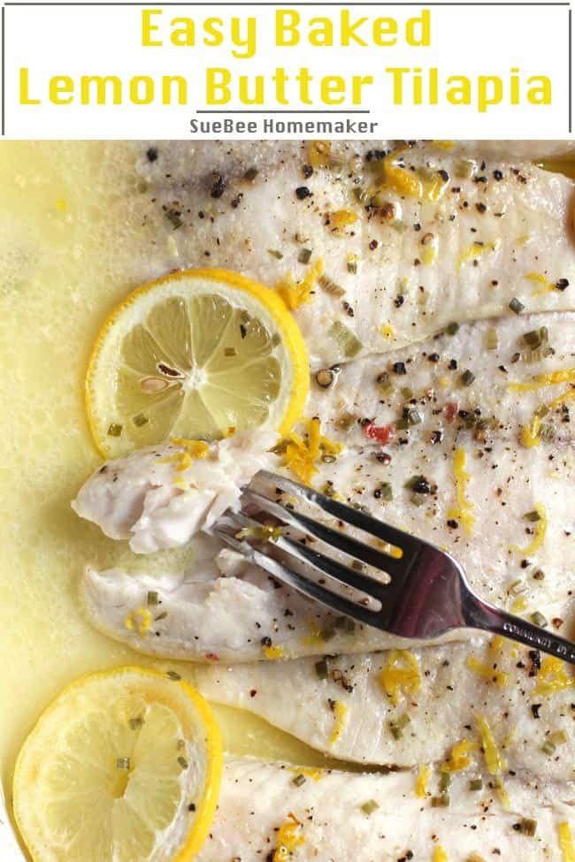 Easy Baked Lemon Butter Tilapia images