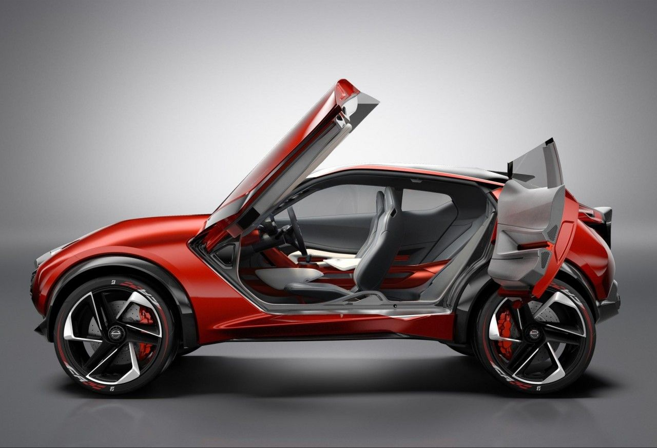 nissan's edgy looking new gripz crossover concept | urban compact