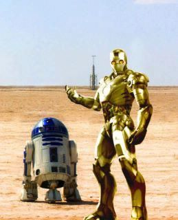 Star Wars versus Iron Man